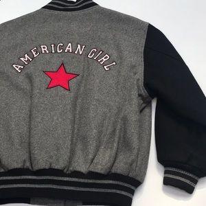 Black & Gray Varsity Jacket